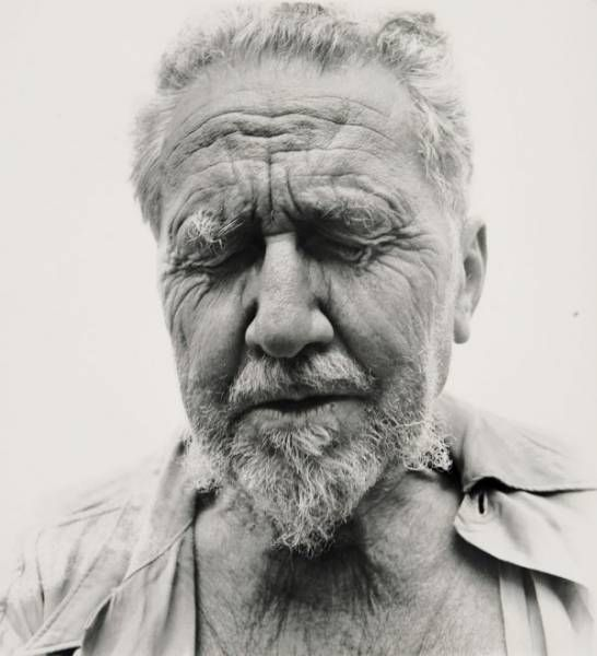 Richard Avedon - Ezra Pound Portrait