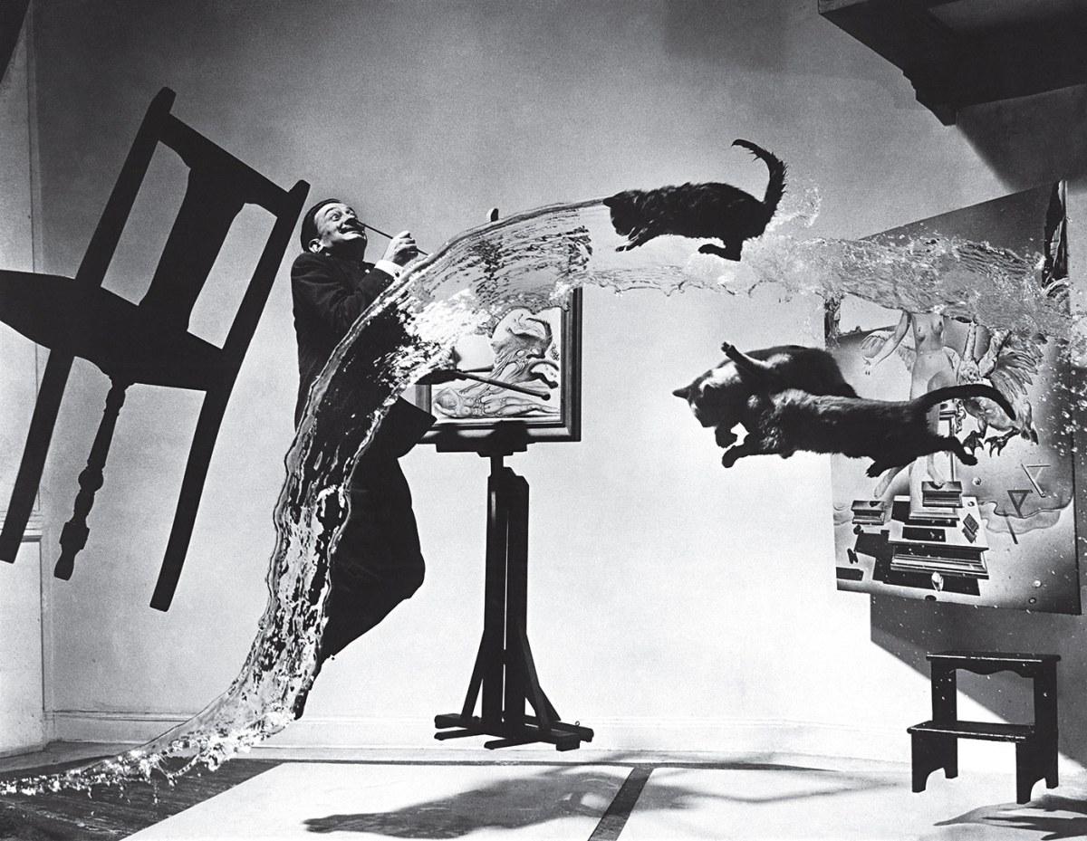 La historia detrás de 'Dalí Atomicus', de Philippe Halsman