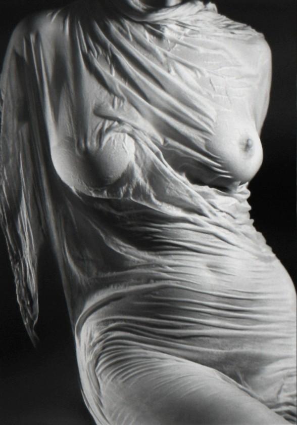 wet silk