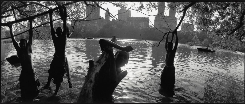USA. New York City. 1992. Central Park.