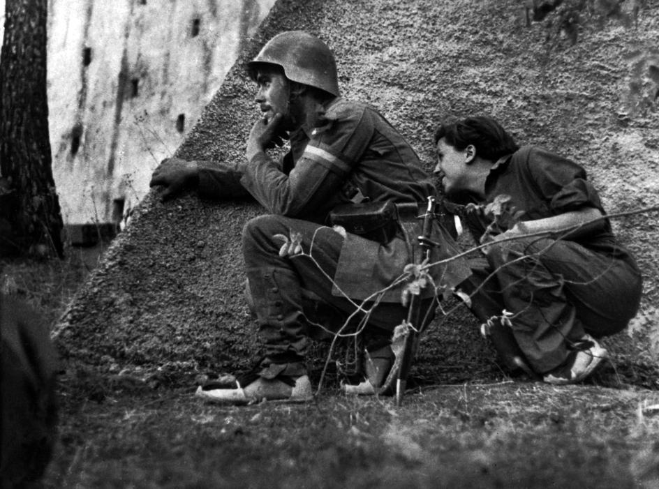 Gerda Taro frente Cordoba septiembre 1936