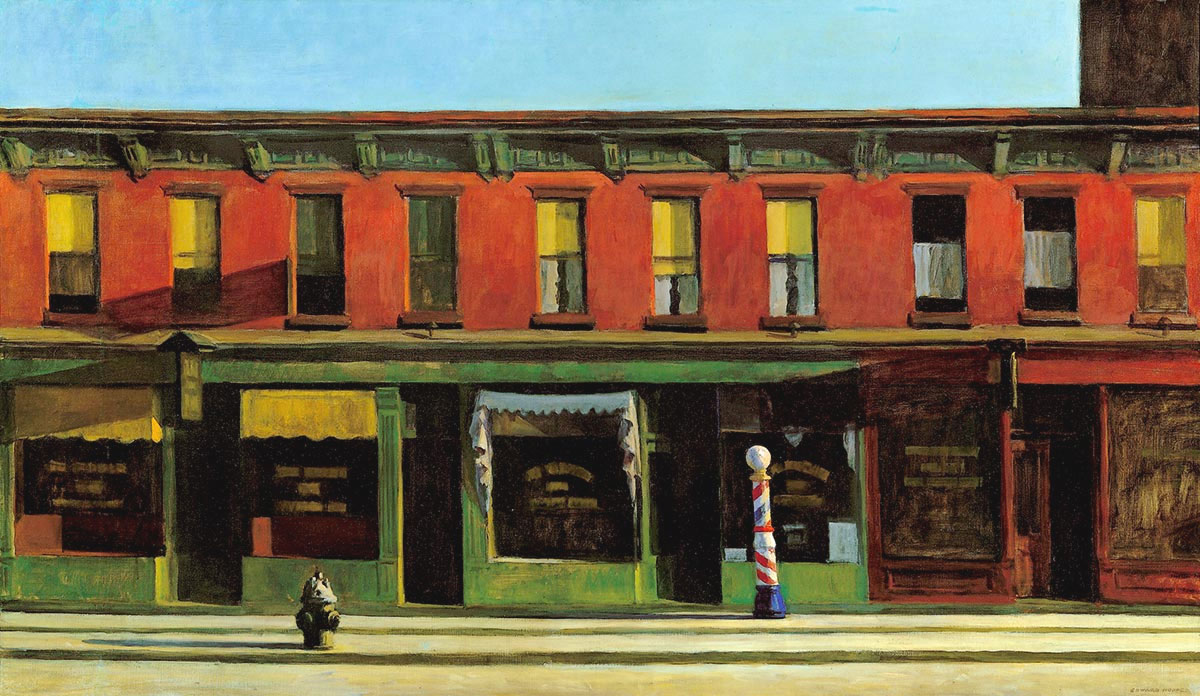 Early-Sunday-Morning-Domenica-mattina-presto-Hopper-1930