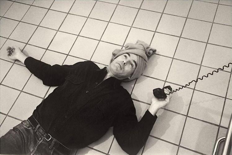 hujar13 self portrait as cindy sherman 1982